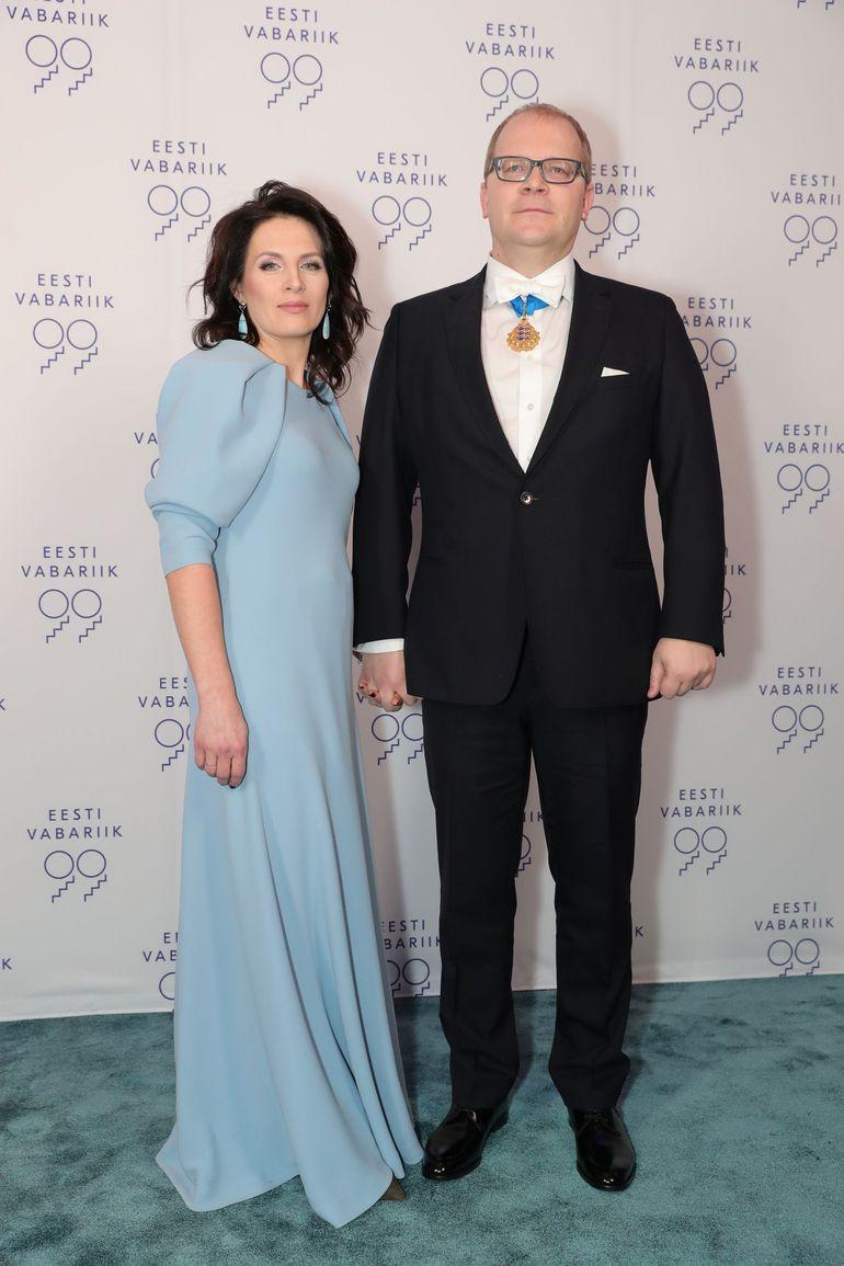 00 Urmas Paeti abikaasa Tiina Paet kleit Iris Janvier foto Erlend Staub