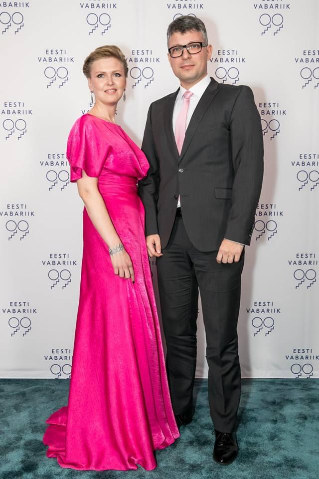 Ilona Taimur IRIS JANVIER kleidis ja riigihalduse minister Mihhail Korb