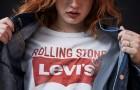 Юбилейная капсульная коллекция Levi's и Rolling Stone