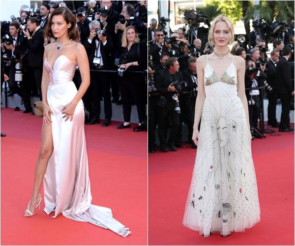Белла Хадид в Alexandre Vauthier, Дарья Строкоус в Christian Dior