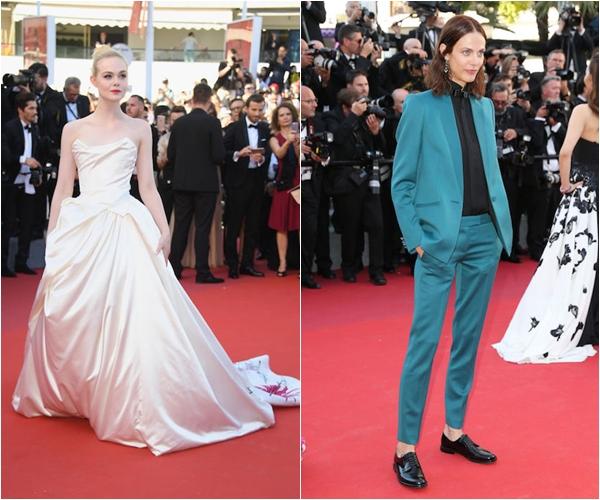 Эль Фэннинг в Vivienne Westwood Couture, Эмелин Валад в украшениях Chopard