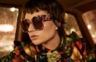Огни ночного города в новой кампании очков Gucci