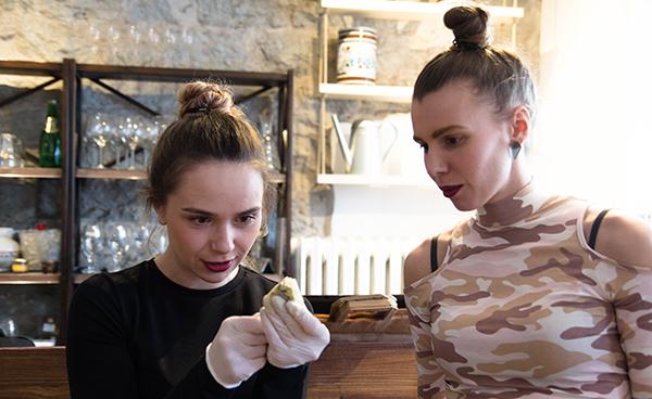 Юлия и Ксения