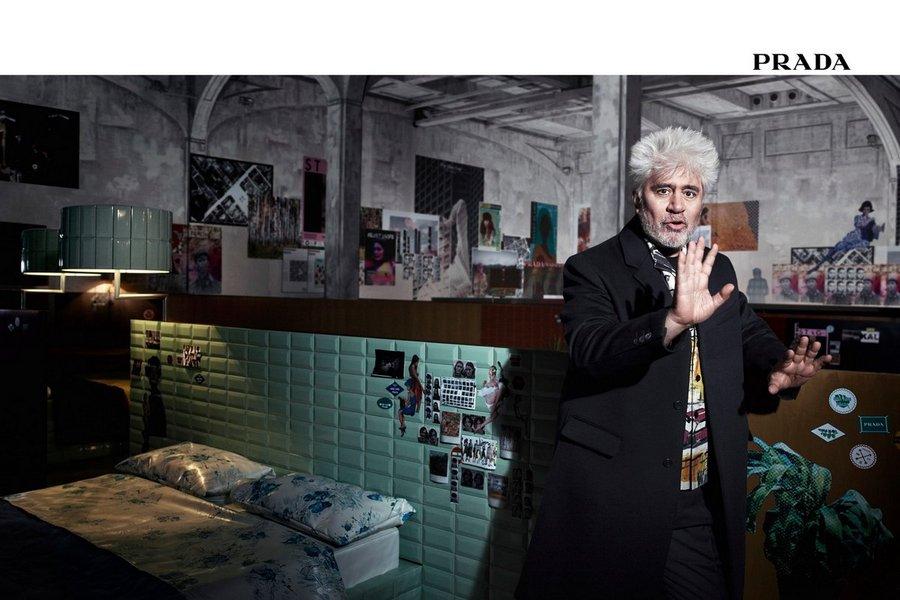Педро Альмодовар - новое лицо Prada