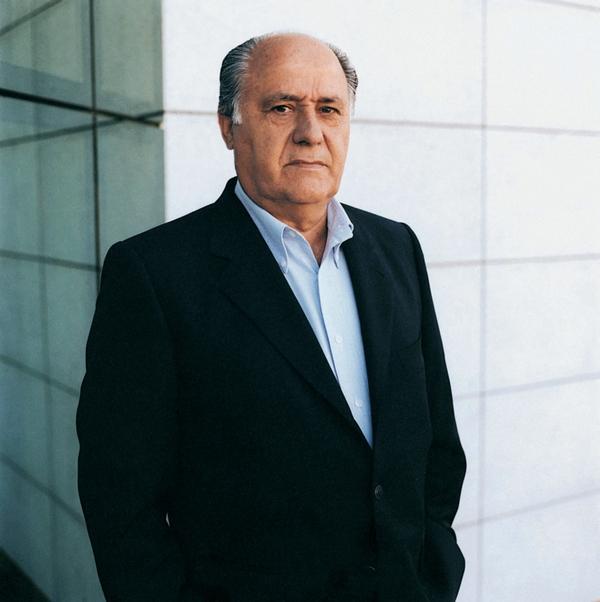 Spain - Amancio Ortega - Inditex Group CEO