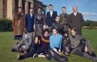 Семейный портрет в рекламной кампании ERDEM x H&M