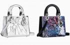 Художники и поэты снова украсили сумки Lady Dior