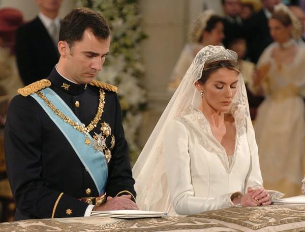 Принц Астурийский Филипп и Летисия Ортис Рокасолано