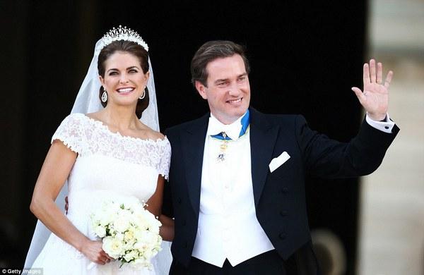 Шведская принцесса Мадлен и Кристофер О'Нил