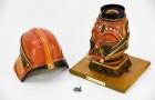 Художник переделывает сумки Louis Vuitton в маски Star Wars
