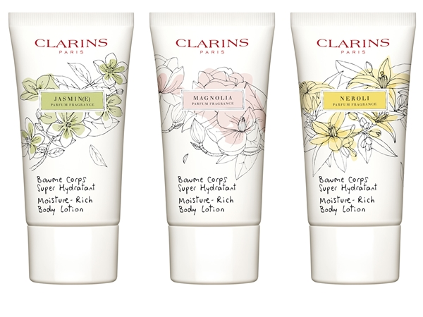 Clarins White Flowers 3