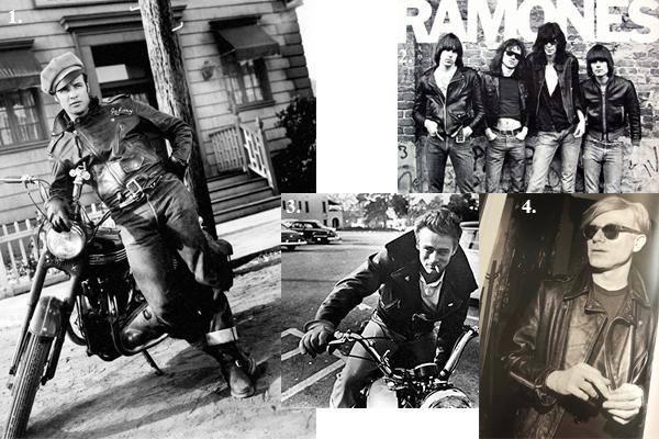 biker jacket history