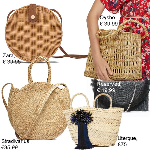 недорогие плетеные сумки