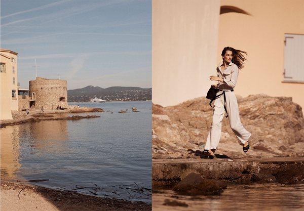 Massimo Dutti Une Femme __ Saint-Tropez 11