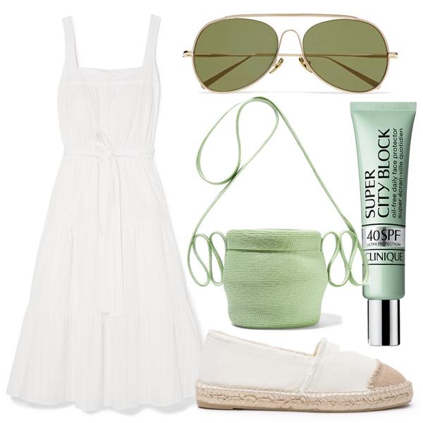 Как носить белое платье (2)