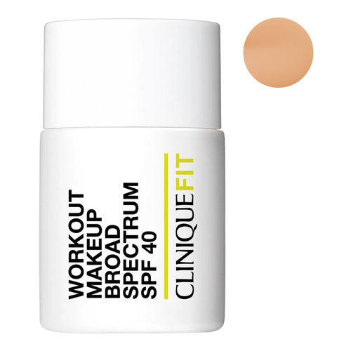 Clinique, Workout Makeup Broad Spectrum SPF 40