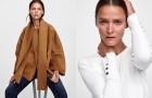Эстонская модель Кармен Касс в лукбуке марки Zara