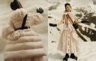 Зимняя романтика в новой коллекции Moncler 4 Simone Rocha