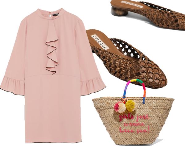 Платье, Zara, € 39.95;