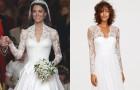 H&M создали бюджетный вариант свадебного платья Кейт Миддлтон