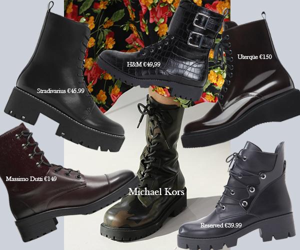 4 Грубые ботинки