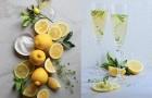Рецепты Zara Home: лимонад с игристым вином и лимонным тимьяном