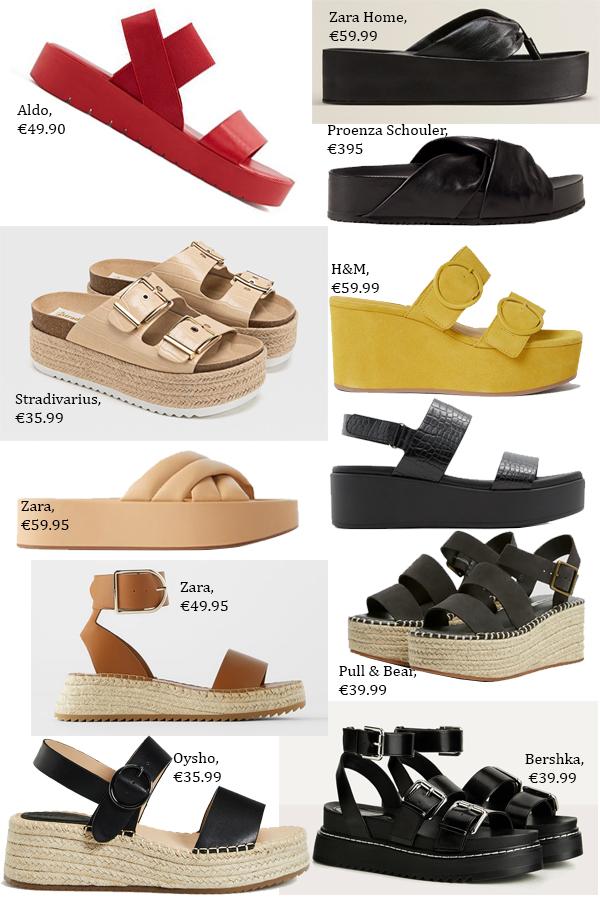 модная обувь на платформе 2020