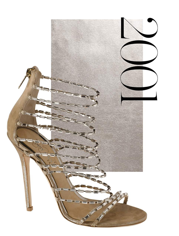 2001 Jimmy Choo sandals