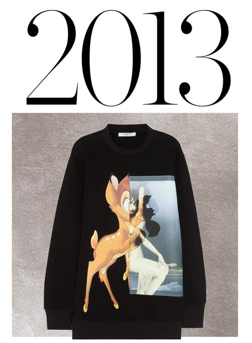 2013 Givenchy's Bambi sweatshirt