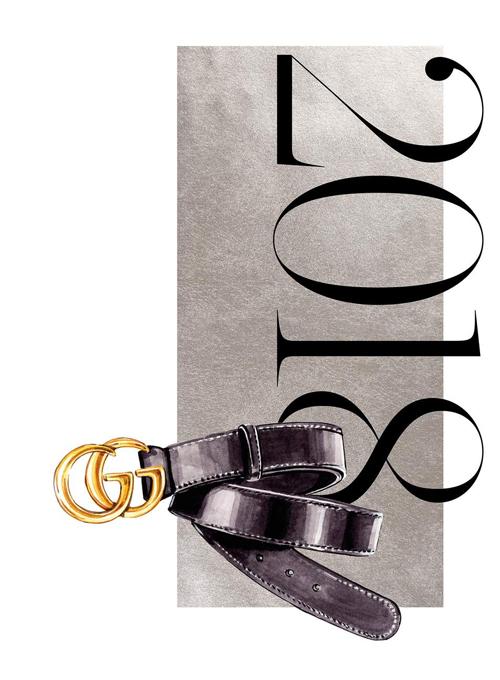 2018 Gucci's 'GG' belt