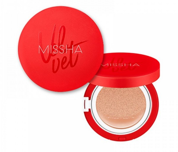 Velvet Finish Cushion от Missha