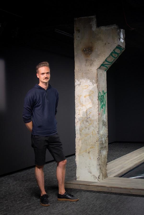 01_Lithuanian new media artist Ignas Pavliukevičius. Photo by Siim Loog.