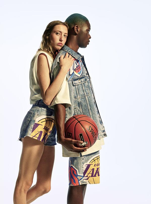NBA x Bershka