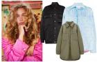 Шопинг: 10 «дутых» курток-рубашек на весну