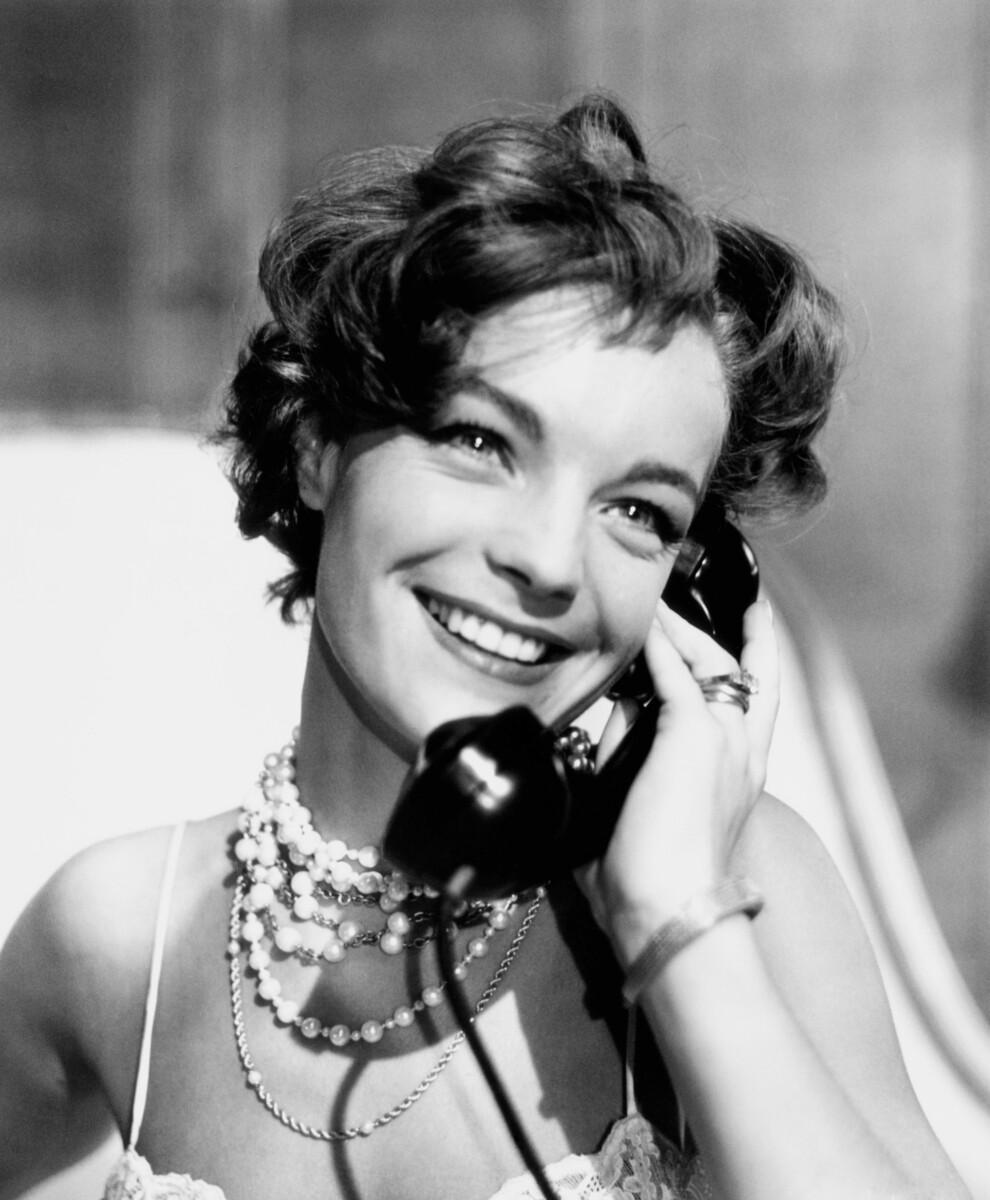 Роми Шнайдер в фильме «Боккаччо-70», 1962. На ней кольцо Trinity
