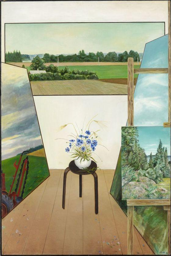 Андрес Тольтс. Эстонские пейзажи. 1982. Художественный музейЭстонии