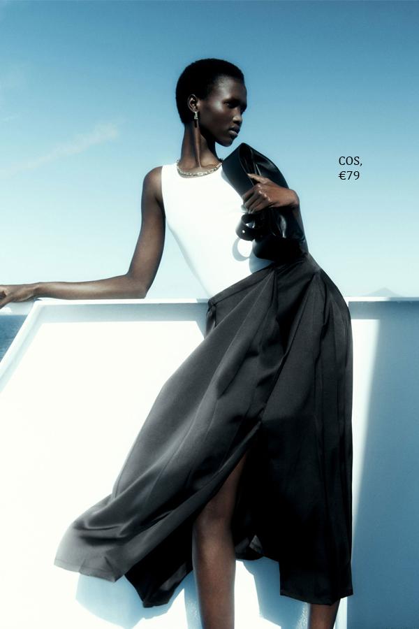 модные шелковые юбки (7)