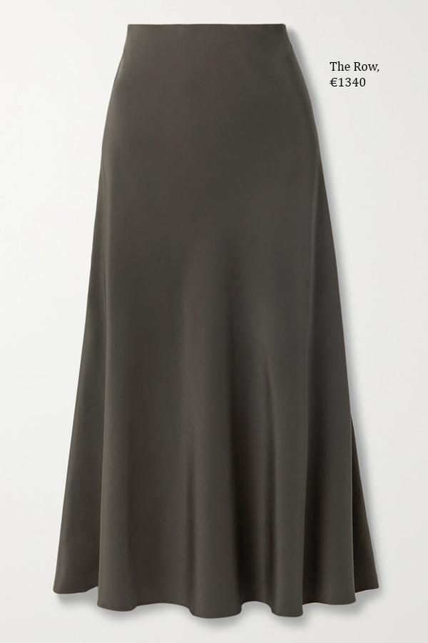 модные шелковые юбки (9)