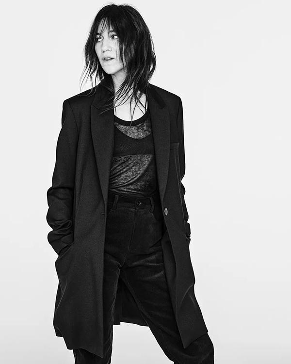 Новая коллаборация Шарлотты Генсбур и Zara (4)