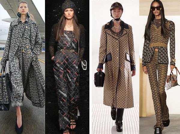 Balmain, Chanel, Gucci, Versace